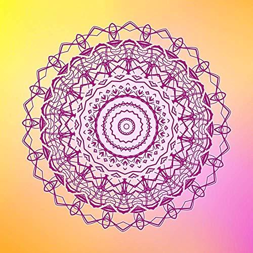 1000 Piezas De Rompecabezas para Adultos Niños Mandala Bohemia Yoga Juego Educativo para Niños Adultos Alivio del Estrés, Decoración del Hogar 38Cmx26Cm