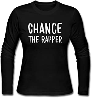 HarrodRobin Women`s Chance The Rapper Acid Rap Cotton Long Sleeve Tshirt