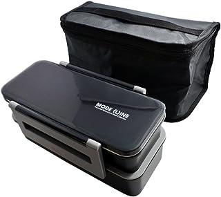 スケーター 保冷バッグ付 ジャンボ2段弁当箱 1.3L  MODE LINE モードライン