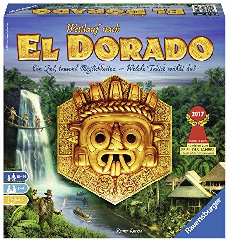 Ravensburger 26720 - El Dorado - Strategiespiel, Spiel für Erwachsene und Kinder von 10 - 99 Jahren - Taktikspiel geeignet für 2-4 Spieler