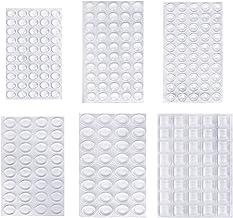 Beschermende buffer rubberen voeten, 254 stuks, transparant, zelfklevend, flexibele aanslagdemper, meubelbuffer bumper voo...