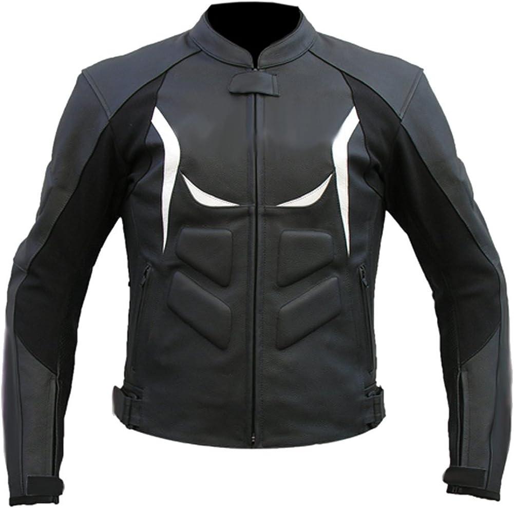 Sleekhides Men's Genuine Leather Motorbike Jacket