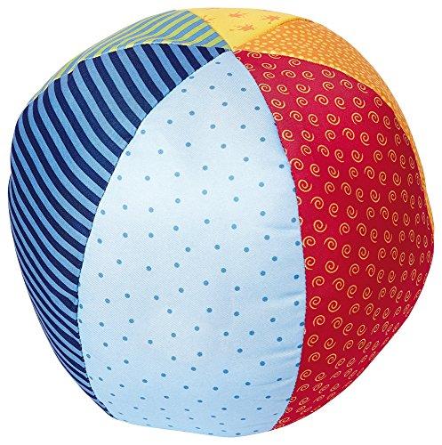 sigikid, Mädchen und Jungen, Soft-Aktiv-Ball groß, Play-Q, Mehrfarbig, 49581