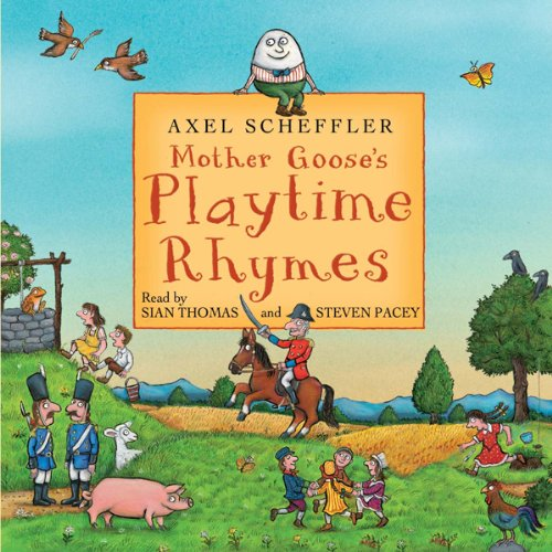 Mother Goose's Playtime Rhymes  audiobook cover art
