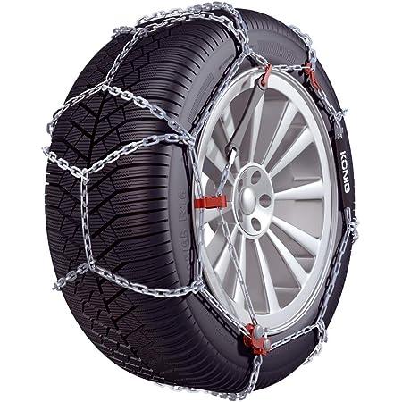 Gruppo 9 Catene da neve 9 mm per BMW serie 3 E90 E92 con pneumatici 205//55//16