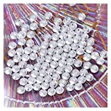 LaiYueShangMao Decoración de Bricolaje Hotfix de Vidrio Rhinestones Flatback Crystal AB Hierro de Piedra para Ropa Bolsa Zapatos Accesorios para Vestido de Manualidades de Bricolaje
