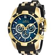 Invicta Men's Speedway Quartz Watch with Stainless Steel Strap, Black, 26 (Model: 25836)