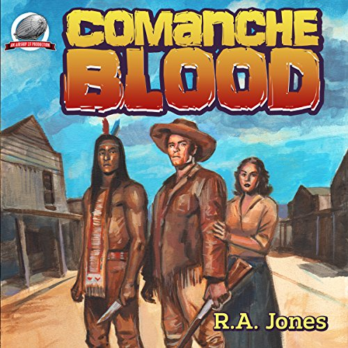 Comanche Blood audiobook cover art