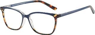 ZENOTTIC Anti Blue Light Glasses Blue Light Blocking Reading Glasses Stylish Leopard Glasses Anti Eyestrain for Women