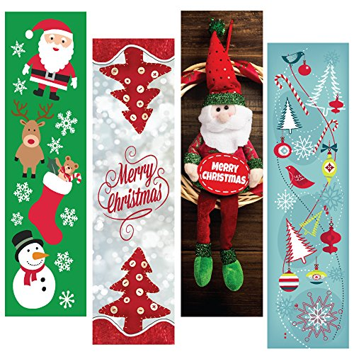 Christmas Holiday Bookmark Bulk Variety Pack - 48 Bookmarks - Party Favors - Stocking Stuffers - Student Gifts - for Kids or Adults