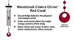 Woodstock Chimes Large Verdigris Heroic Windbell HWL