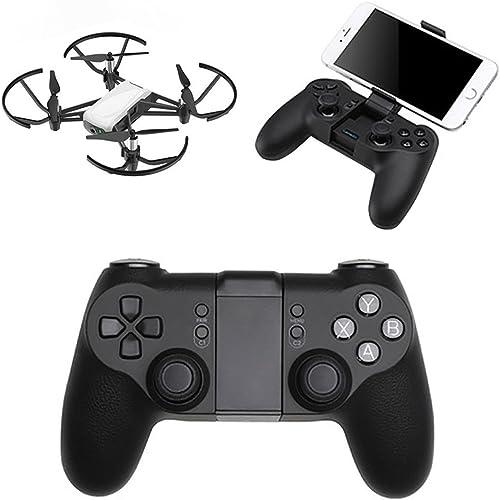 Remote Controller Für Dji Tello Drone, CHshe Blautooth Fernbedienung Griff Kabellos Kabelgebundenes Handyhalterung JoyStück Drohne Zubeh Für Dji Tello Drone Ios7.0 + Android 4.0 Und H r