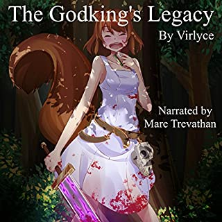 The Godking's Legacy audiobook cover art