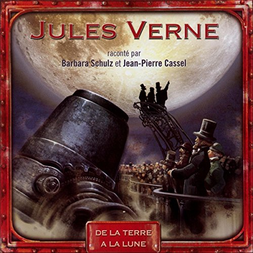 De la Terre à la Lune audiobook cover art