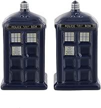 Doctor Who Tardis Ceramic Salt and Pepper by TruffleShuffle
