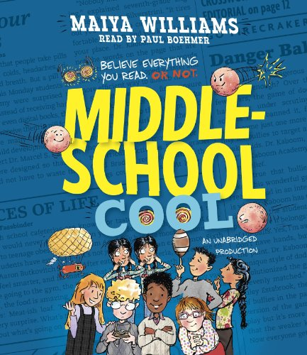 Middle-School Cool audiobook cover art