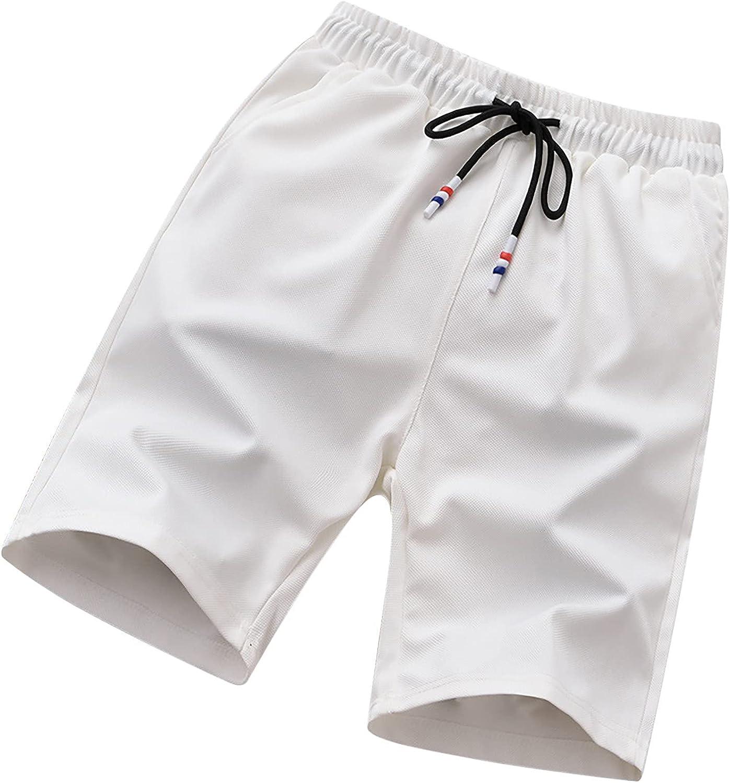 Raeneomay Mens Shorts Casual Summer Work Big and Tall Shorts with Pockets Athletic Walk Shorts