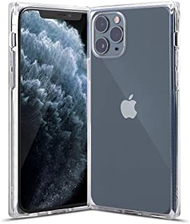 AOPULY Ultra-Thin Soft Clear Case for iPhone 11 Pro Max, Square Edge Protection Case with Full Body Protection, Ultra Slim Cover Shockproof Shell Compability with Apple iPhone 11 Pro Max 6.5''