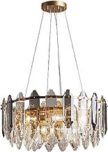 Crystal Chandelier Farmhouse Crystal Light Adjustable Hanging Ceiling Lighting Fixture Modern Home Dining Room For Bedroom...