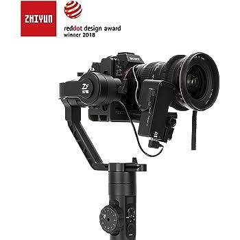 Zhiyun Tech Crane 2 Estabilizador Manual para cámara Negro: Amazon ...