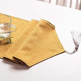 Accueil Linge De Table Chemin De Table Coton Linge Classic Tableau de table avec glands pour Diner Bureau Dressing Buffet ...