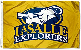 College Flags and Banners Co. La Salle University Explorers Gold 3x5 Flag