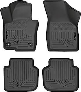 Husky Liners 98681 Fits 2012-21 Volkswagen Passat Weatherbeater Front & 2nd Seat Floor Mats , Black
