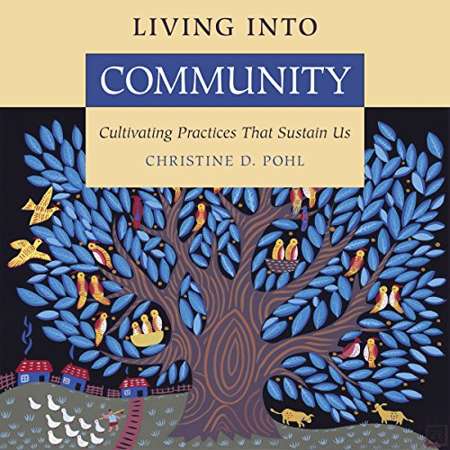 Living into Community audiobook cover art