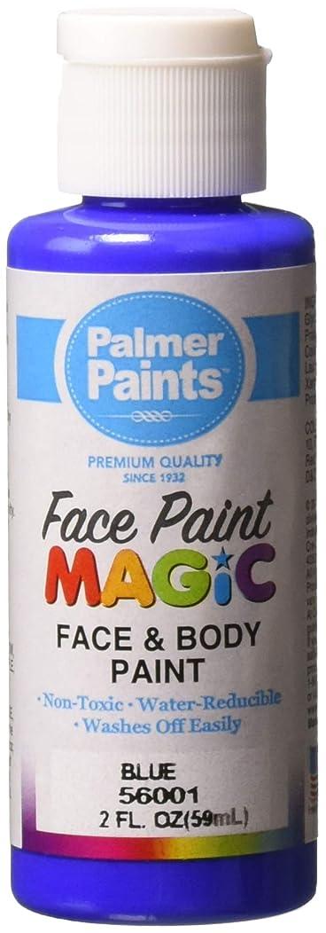 Palmer 56001-36 Face & Body Paint, 2 oz, Blue