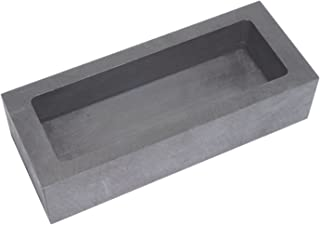 55x37x20mm - 150g Gold//70g Silver Graphite Ingot Mold Melting Casting Mould for Gold Silver Aluminum Copper Brass Zinc Plumbum and Alloy Metals
