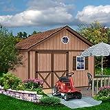 Best Barns Brandon 12' X 12' Wood Shed Kit