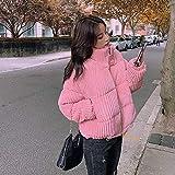 XYZMDJ Algodón Corduroy abrigo mujer 2020 invierno espesado cálido hip- hop chaqueta corta mujer de alta calidad de alta calidad Outwear mujer parkas (Color : A, Size : Small)