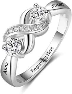 sapphire promise rings for her