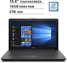 2019 Newest Premium HP Pavilion 15.6 Inch Touchscreen Laptop (Intel Core i3-7100U 2.40GHz, 16GB RAM, 2TB HDD, WiFi, HDMI, DVDRW, HD Audio, Webcam, Windows 10)