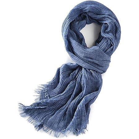 Warm Winter Mens Cotton Scarf