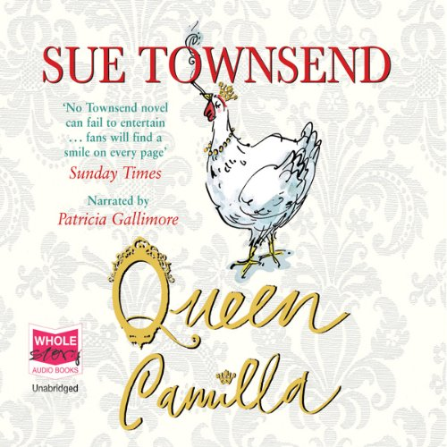 Queen Camilla audiobook cover art