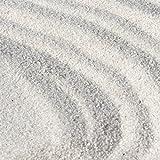 砂場用 乾燥砂 さらさらあそび砂 ホワイト 20kg (11.7L)【放射線量報告書付き】