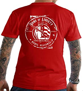 Sons Of Liberty Original Rebel Alliance : T-Shirt. Made in