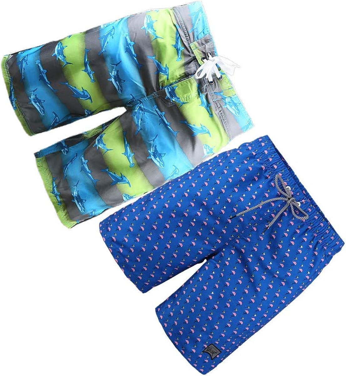 BG 2-Pcs Pack Men's Design Rash Guard Bikini European Style Underwear Pocket Swim Suit