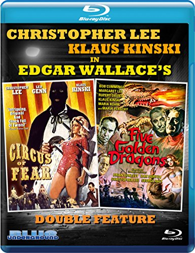 CIRCUS OF FEAR / FIVE GOLDEN DRAGONS - CIRCUS OF FEAR / FIVE GOLDEN DRAGONS (1 Blu-ray)