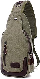 SDFKLHS Bolso casual para hombre bolso para hombre en el pecho bolso casual para hombre bolso de hombro para mujer marea d...