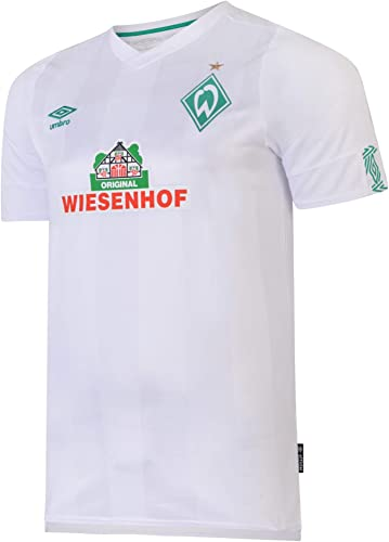 Umbro 2019-2020 Werder BreHommes Away Football Soccer T-Shirt Maillot