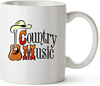 Country Music Gift Mug – Coffee Cup for Men, Women, Country Western Music Fans