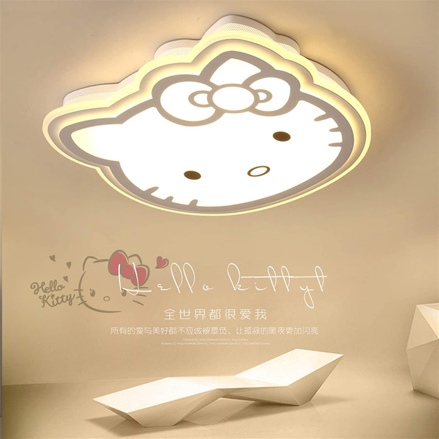 Chandelier Cartoon Cute Ranking TOP16 Cat-Shaped LED Children' Lamp Ceiling Outlet SALE in
