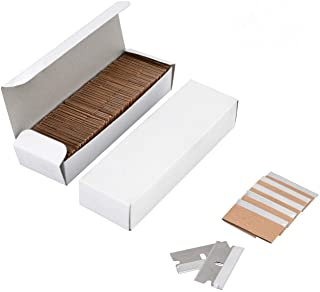 Single Edge Industrial Razor Blades 200 Pcs, Standard Razor Blades Scraper for Removing Paint,Mastic,Stickers,Putty or Decals, 1.5x0.75 Inch by Venhua