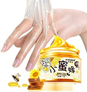Hands Care ParaffinMilk & Honey Moisturizing Peel Off Hand Wax Mask Hydrating Exfoliating Nourish Whitening Skin 5.3oz/150ml