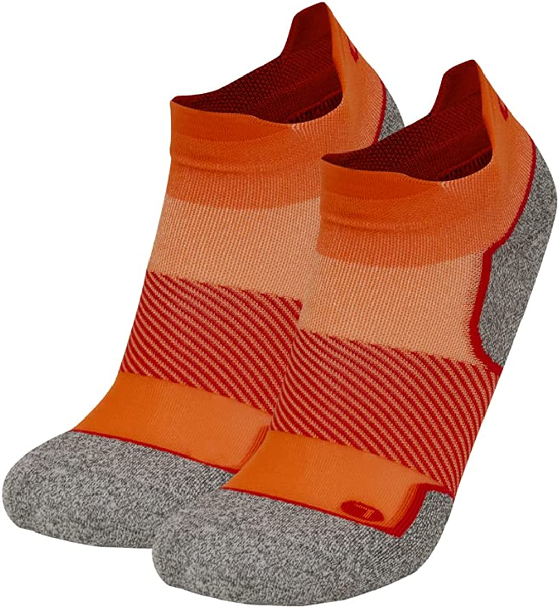 OS1st AC4 Blister Protection Noshow Active Comfort Socks light-mod compression