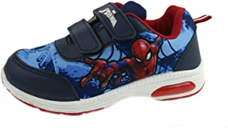 Marvel Spiderman Light Up Sports Trainers