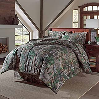 Realtree Xtra Green Camo Camouflage Sheet Set (Comforter sold separately) Twin
