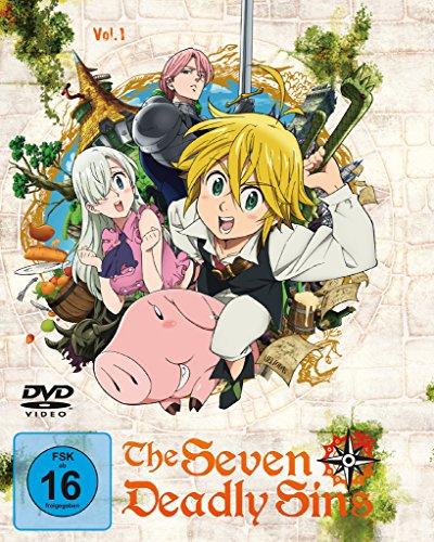 The Seven Deadly Sins - DVD 1 - Episoden 1-6 (2 Discs)